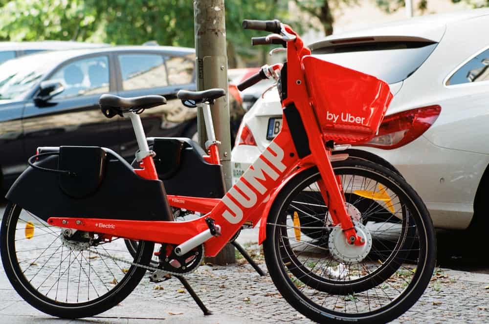 Vélo de location électrique